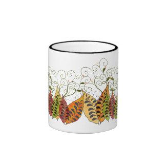 Fall Autumn Leaves Coffee Mug