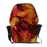Fall Autumn Leaves Courier Bags