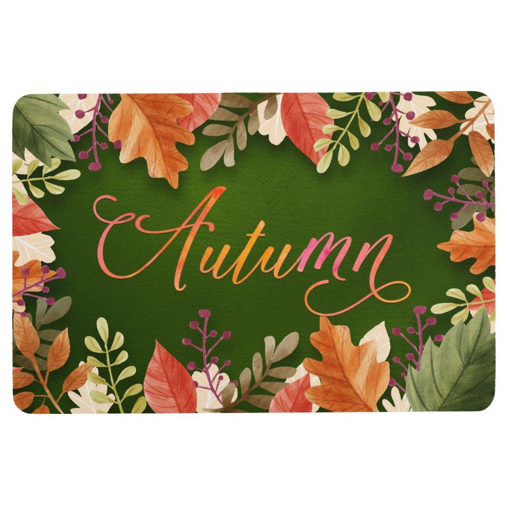 Fall - Autumn Leaves Framed GRN