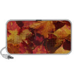 Fall Autumn Leaves PC Speakers