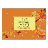 Fall Autumn Leaves Religious Quote Overlay