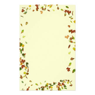 FALL / AUTUMN LEAVES STATIONERY