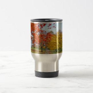 Fall Autumn Leaves Travel Mug