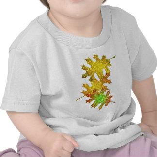 Fall Autumn Season Leaves Oak Design Tshirt