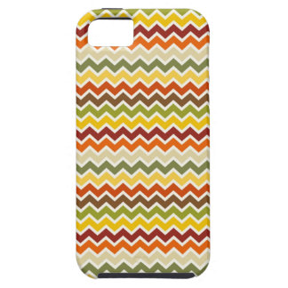 Fall Autumn Thanksgiving Chevron Zigzag Pattern iPhone 5 Case