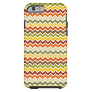 Fall Autumn Thanksgiving Chevron Zigzag Pattern iPhone 6 Case