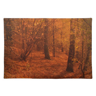 Fall Autumn Trees Placemat