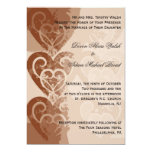 "Fall/Autumn Wedding Invitation 5"" X 7"" Invitation Card"