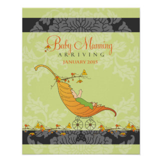 Fall Baby Shower | Baby shower guest book Print