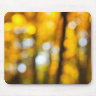 Fall background mouse pad