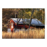 Fall Barn in Central Maryland Card