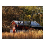 Fall Barn in Central Maryland Poster