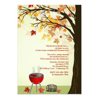 Fall BBQ Invitation
