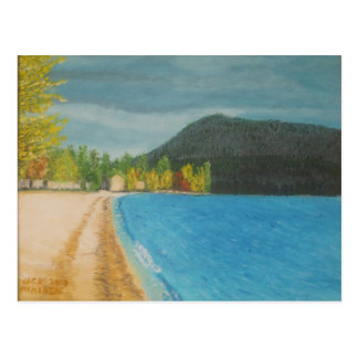 Fall Beach Afternoon - COTW Postcard