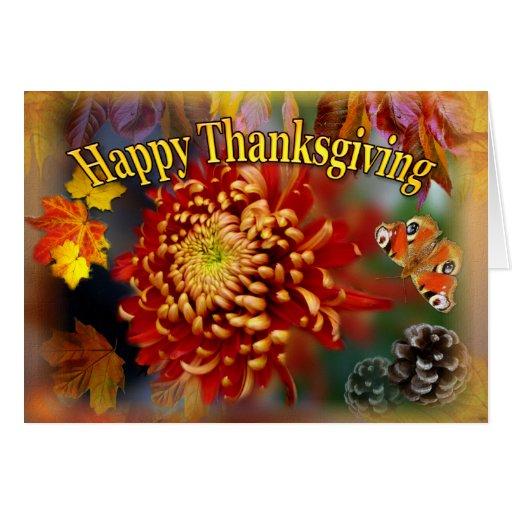 Fall Beauty ~ Thanksgiving Card