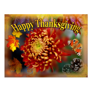 Fall Beauty ~  Thanksgiving Postcard