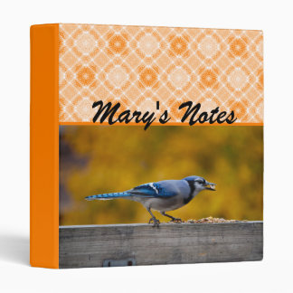 Fall Blue Jay Binder