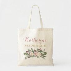 Fall Boho Flowers | Wedding Bridal Party Tote Bag