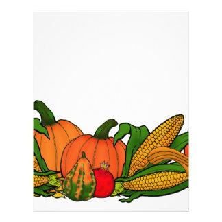 fall border letterhead