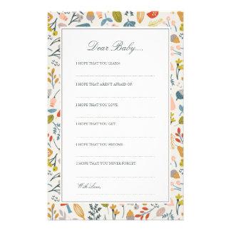 Fall Botanical | Dear Baby Cards
