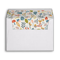 Fall Botanical Envelope