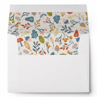 Fall Botanical Envelope