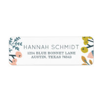 Fall Botanical Label