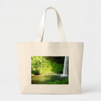 Fall Bottom Large Tote Bag