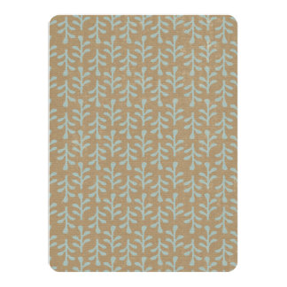 Fall Branches Pattern 5.5x7.5 Paper Invitation Card