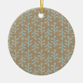 Fall Branches Pattern Christmas Tree Ornaments
