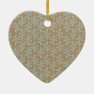 Fall Branches Pattern Christmas Ornament
