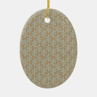 Fall Branches Pattern Ornament