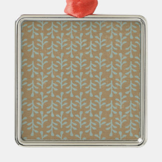 Fall Branches Pattern Christmas Ornaments