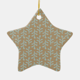 Fall Branches Pattern Ornaments