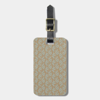 Fall Branches Pattern Tags For Luggage