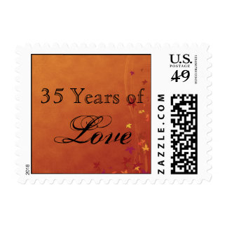 Fall Breezes Love Stamp