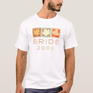 Fall Bride 2009 Basic T-Shirt