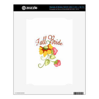 FALL BRIDE DECAL FOR NOOK