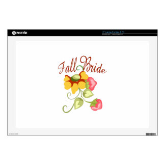 FALL BRIDE LAPTOP DECAL