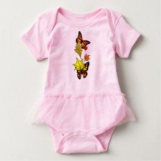 Fall Butterflies Baby Bodysuit