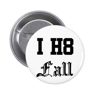 fall pinback button