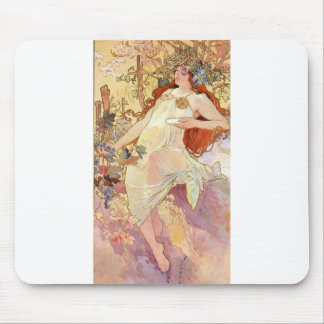 Fall by Mucha Mouse Pad