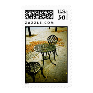 Fall Cafe Patio 02 Postage