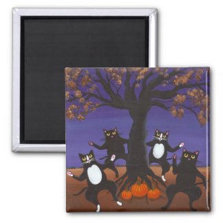 Fall Celebration 2 Inch Square Magnet