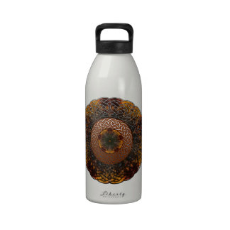 Fall Celtic Knot circle Drinking Bottle