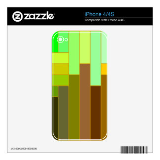 Fall CityScape iPhone 4S Skins