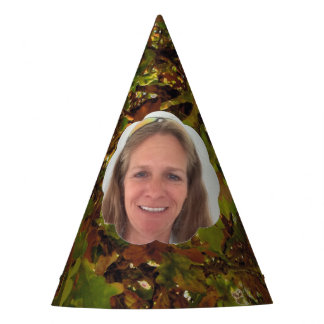 Fall Cloud Photo Frame Party Hat