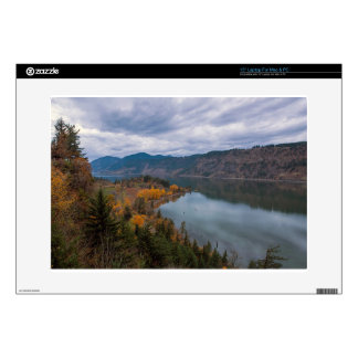 Fall Color along Columbia River Gorge Oregon Laptop Skins