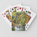 Fall Color at Ohiopyle State Park Playing Cards