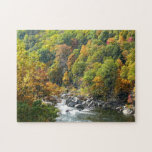 Fall Color at Ohiopyle State Park Puzzle